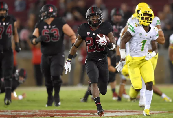 Stanford Cardinal RB Bryce Love goes the distance against the Oregon Ducks